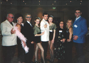 Dial M Cast Photo at a bond themed murder mystery dinner